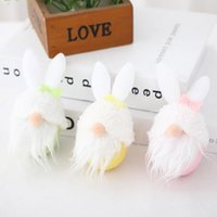 2021 Easter Faceless Doll Christmas Decorations Gnomes Spring Gifts Room Plush Present Cartoon Soft Children Filled Calendario