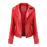 Women's Leather & Faux European Style Woman Coats Spring Autumn Jacket Female Clothing 2021 Jackets