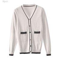 Autumn Women Sweaters Casual Streetwear V-neck Open Stitch Cardigan Korean Female Outside Jacket Outwear Coats Knitted Tops 2019