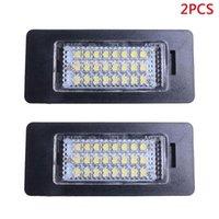 أضواء الطوارئ 2PCS لوحة ترخيص ضوء ل E81 E82 E90 E91 E92 E93 E60 E61 E39 X1 / E84 X5 / E70 X6 / E71 رقم السيارة