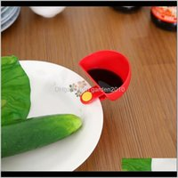 Other Kitchen Dining Bar S For Assorted Salad Sauce Ketchup Jam Flavor Sugar Spices Dip Clip Cup Bowl Saucer Accessories Gadge 3F6Tq