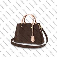 الجلود M41056 حقيبة حمل قماش يد حقيبة الكتف mm montaigne عبر الجسم حزام desinge جلد البقر المرأة bb محفظة m41055 oepdf