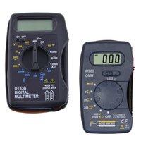DT83B M300 Digital Multimeter LCD Handheld Tester AC DC Voltage Modern Current Ohmmeter Clamp Meters Testers