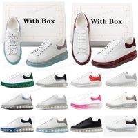 top quality 2021 designer fashion luxury espadrille flat flats alexander mcqueens men mcqueen oversized shoes sneaker men women platform shoes baskets sneakers