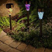 Solar Lights For Outdoor Lamps Pathway,Brightest Light Set Walkway, Patio, Path, Lawn, Garden, Yard Decor,Waterproof Fedex