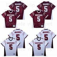 High School Football Football Whitehouse Trojans 15 Patrick Mahomes Jersey Sport Respirant Toutes les coton Pure Coton Couleur Couleur Rouge Blanc Bonne Qualité Hommes Vente