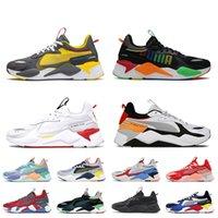 Puam Rs-x Top Qualité Femmes Hommes Chaussures De Sport Transformateurs Andins Toucan Orange Réinvention Ciel Clair Pêche Lumineux Ader Erreur RX S Tennis Baskets Baskets