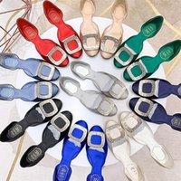 Junetxin Schnallen atmungsaktive einzelne Sandalen Frauen weiche flache Schuhe Sommer runde Zehe rutschfeste hochwertige größe größe 34-40
