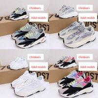 Childrens Sneaker Top Quality Azael Alvah Eremiel 700 V3 Bebé Bebé Corriendo Zapatillas SRPHYM ARZARET Corredor de espuma Triple Negro Niños Sneakers