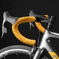 Bicicleta guidão Componentes Estrada Bicicleta guiador fita antiderrapante desgaste desgaste + 2 bar plugue à prova de choque alça de ciclismo