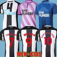 21 22 Newcastle كرة القدم الفانيلة Home United Shelvey Wilson 2021 2022 Camisetas Joelinton Training Football Shirt Almiron Ritchie Gayle Lewis Lewis Lews