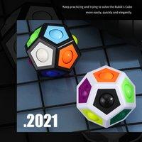 Fidget Ball Puzzle Game Fun Stress Reliever Magic Balls Brain Teaser Fidgets Toys for Children Teens & Adults