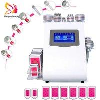 2021 Newtest RF 9 in 1 Vacuum40k cavitation machine slimming System Lipo Laser 40KZ Slim Weight Loss beauty