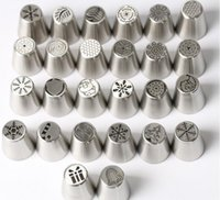 Baking Moulds Christmas Stainless Steel Icing Tips Piping Pastry Nozzles Cake Decorating Tools Party Supply 26 Styles For Choose