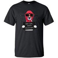 Men's T-Shirts Bad Girl Dept Funny Dog Fashion Gift T Shirt Cotton Loose Vintage Print Shirts Top Men Cool Hip Hop Short Sleeve Tshir