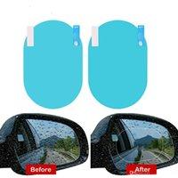 Ev 60 adet Araba Dikiz Aynası Film Anti-Sis, Su, Sis, Parlama Koruyucu Çıkartmalar Arabalar SUV Ekran Dikiz Penceresi Açıkçası HHD6319