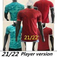 لاعب نسخة منزل أحمر بعيدا الأخضر الثالث الأسود الأعلى تايلاند محمد لكسر جيرسي كرة القدم القمصان 20 2122 2022 2021 رجال