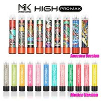 Matsking High Pro Max Одноразовый Устройство для воспитателя Vape Pen E При сигарете с огнями 850 мАч Батарея 4.5 мл Pod Cod Confult Cartridge 1500 Puffs MK Kit VS Flume