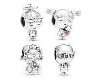 Passt Pandora Armbänder 30 stücke Junge Mädchen Oma Grandma Baumeln Anhänger Charms Perlen Silber Charms Perle Für Frauen DIY Europäische Halskette Schmuck