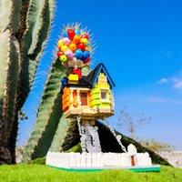 MalailAckers creator architettura esperta in volo palloncino casa tesegrity sculture blocks building blocks house giocattoli bambini regali x0522