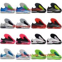 2021 Futbol Ayakkabıları Varış Erkek Phantom GT Pro TF Turf Cleats Futbol Çizmeler MD Eğitmenler Firma Zemin