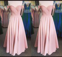 Elegant Blush Pink Off the shoulder Bridesmaid Dresses with Sleeves Chiffon Floor Length Empire Applique Lace South African Boho Prom Evening Party Dress