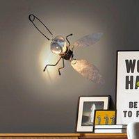Wall Lamps Post Modern Designer Lamp Mosquito Art LED Lights Children Bedroom Kitchen Living Room Home Decor Sconce
