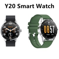 """Fitness Tracker Heart Rate Monitor Watches 1.2"""" full touch IP67 TPU For Android Band Dial Calling Y10 Intelligent Phone Bracelet Y20 Smartwatch PK U8 Smart watch"""