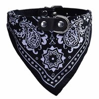 Adjustable Pet Dog Puppy Cat Neck Scarf Tie Bowtie Necktie Bandana Collar Neckerchief Accessories Grooming #JAN Collars & Leashes