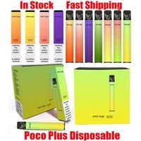 Best Original POCO PLUS Disposable Device Kit 3.2ml Pods 800 Puff 550mAh Battery Vape Stick Pen For XXL Ezzy Super Kangvape Onee 100% Authentic