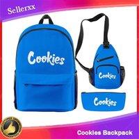 Bolinhos Mochila Ombro Pack Pen Bag 3 pcs Viajando Escola Sacos Para Backwoods Charutos Packs Laptop Ao ar livre Caminhadas E Cig Capas