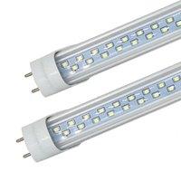 LED T8 tubos 4FT 28W 2900LM SMD2835 G13 192LLEDS 1.2M Row Double AC 85-265V LED iluminação fluorescente