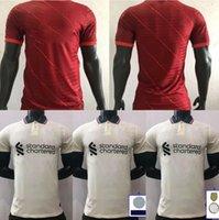 Oyuncu Sürümü 20 21 22 Futbol Formaları Gerrard Special Edition Smicer Alonso Hamann Barnes Kuyt Cisse 2021 2022 Futbol Gömlek