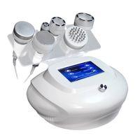 Estoque nos EUA 80k Cavitação Ultrasônica emagrecimento Celulite Redução de Vácuo Rádio Prensaterapia Estimulador Muscular Ultherapy Perda de Peso Spa Máquina