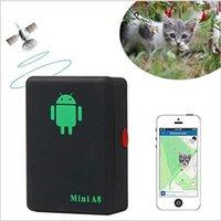 Attività Tracker 2021 Dehyton Mini A8 No GPS Tracker Locator Time Time Car Kids Pet GSM / GPRS / LBS Tracking Adattatore di alimentazione