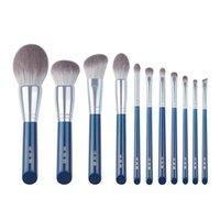 Makeup Brushes 11  13PC Tool Set Woolden Fiber Plastic Handle Foundation Blush Make Up Brush Maquiagem Kit