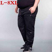 Men's Pants Plus Size 8XL 7XL 6XL Autumn Jogger Camouflage Gyms Men Fitness Bodybuilding Runners Clothing Sweatpants