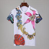 صنع في إيطاليا المحملة رجل مصمم القمصان قصيرة الأكمام الرجال ماركة الملابس الأزياء تي شيرت المرأة تي شيرت الذكور أعلى جودة القطن تيز 548