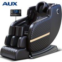 فاخر ذكي كامل الجسم متعدد الوظائف صفر جاذبية تدليك كرسي، الشيح الساخن ضغط + ألياف الكربون التدفئة، I1