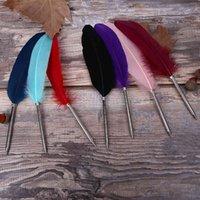 ريشة الأزياء القلم الرايل حبر جاف 11 ألوان s ل هدية الزفاف مكتب لوازم الكتابة المدرسة