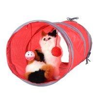 고양이 장난감 터널 애완 동물 새끼 고양이 재생 장난감 강아지 접는 튜브 텐트 승 / 공