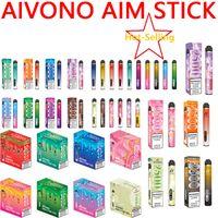 Auténtico AIVONO AIMT STICK DESECHABLE VAPE PEN EX Dispositivo de cigarrillo con batería de 1400 g