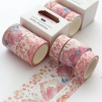 3pcs / 세트 페인팅 Washi 마스킹 테이프 귀여운 접착제 DIY 장식 스티커 Scrapbooking 일기 문구 Nha5716