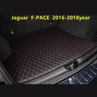 Car Trunk Mat Rear Box Lingge Mat for Jaguar F-PACE 2016-2018year