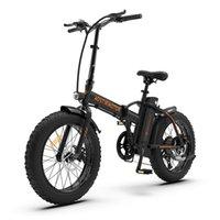 USA ASTOMOTOOR A20 Bike elettrica Pieghevole Bike 36V 13Ah Batteria al litio 500W Ebike 20 pollici 4.0 Pneumatico grasso City Beach Cruiser Bicycle