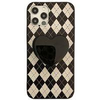 13 Mini Pro Max Cases For Iphone 12 11 13mini Promax X Xs Xr 6 7 8 Plus Plush Bowknot Lattice All-inclusive 7plus Soft Shell Bracket Cover Mobile Phone Case