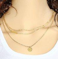 Halsketten Anhänger Silber / Gold Horn Nette Geweih Minimalistische Schmuck Geschenk für Weihnachten vergoldet Lange Charms Ketten Halsketten 27 J2