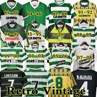 Larsson Celtic Retro 01 03 Fussball Jerseys Home 95 96 97 98 99 Fußballhemden Sutton Nakamura Keane 05 06 89 91 92 84 85 Klassische Vintage