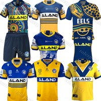 Parramatta Eels Anzac Edición conmemorativa Camisa de Jersey Indígena Australia NRL Liga de Rugby Jerseys 2021 Pantalones cortos Polo Papones
