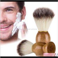 Other Toilet Supplies Bath Home & Gardeneco-Friendly Barber Salon Wooden Handle Blaireau Face Beard Men Shaving Razor Brush Cleaning Applianc